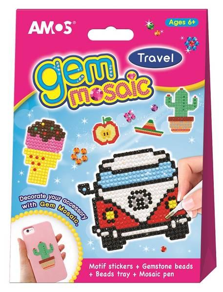 Gem Mosaic, Travel