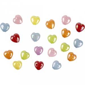Bilde av Blanke Hjerte perler