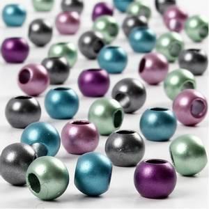 Bilde av Metallic Kongo perler 10mm