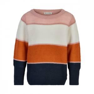 Bilde av Minymo Stripet strikke genser