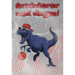 Bilde av Dobbelt kort, T-Rex