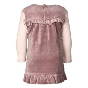 Bilde av Fixoni Velour kjole med body,