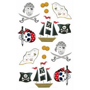Bilde av Klistremerker, pirater