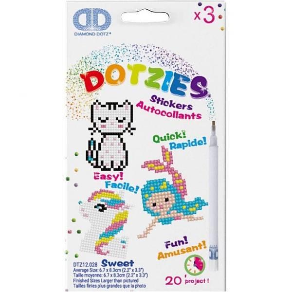 Diamond Dotz, Sweet Klistremerker