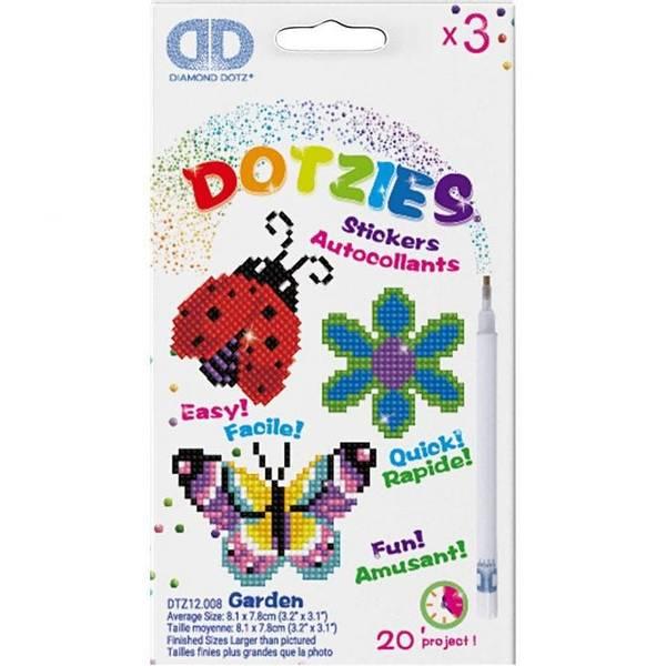 Diamond Dotz, Garden Klistremerker