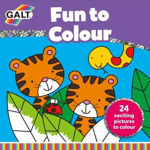 Bilde av Galt- Fun to Colour bok