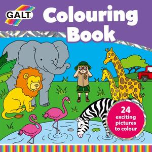 Bilde av Galt- Colouring book