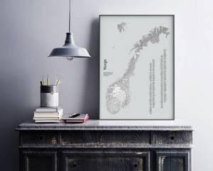 Bilde av Norgeskart