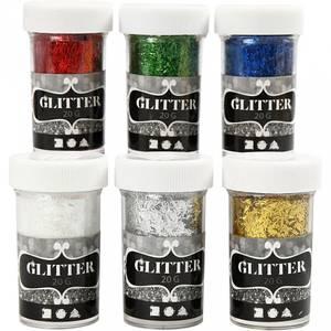 Bilde av Glitterdryss fiber 1stk a 20g