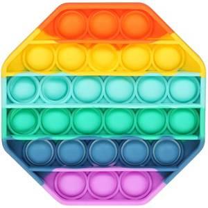 Bilde av Push Pop, octagon rainbow