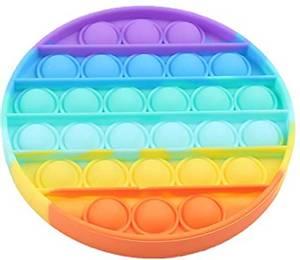 Bilde av Push Pop, rund rainbow