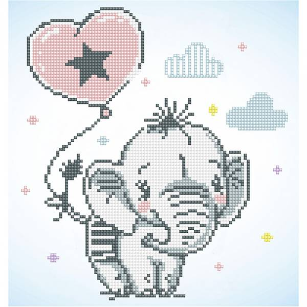 Diamond dotz, Sweet Trunk Elefant