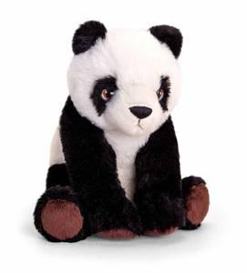 Bilde av Panda av resirkulert plast