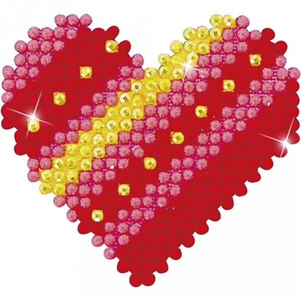 Diamond Dotz, Patchwork Heart med ramme