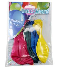 Bilde av Ballonger 30cm, Metallic