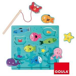 Bilde av GOULA- Magnet fiskepuslespill