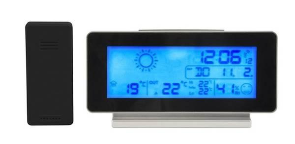 Bilde av Trådløs vejrstation med radiostyret ur