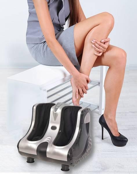 Bilde av Shiatsu fod- og lægmassage - sølv
