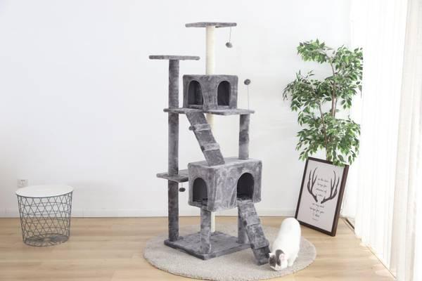 Bilde av Klostativ för katt XXL - 175 cm - Grå