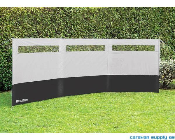 Bilde av Väggvägg Brunner Antigua 400x140cm grå