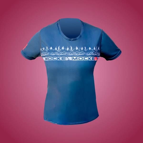 Mocke Paddling T-shirt ladies