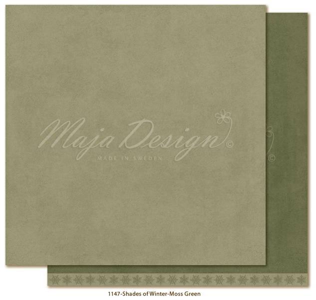 Maja - 1147 - Monochromes - Shades of Winter - Moss green