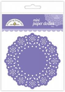 Bilde av Doodlebug Design - 4604 - Mini Paper Doilies - Lilac - 75 stk