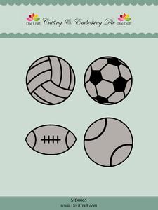 Bilde av Dixi Craft - Dies - MD0065 - Sports Balls