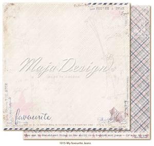 Bilde av Maja Design - 1015 - Denim & Girls - Favourite Jeans