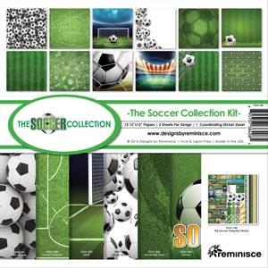 Bilde av Reminisce - 12x12 Collection Kit - TSOC200 - The Soccer Collecti