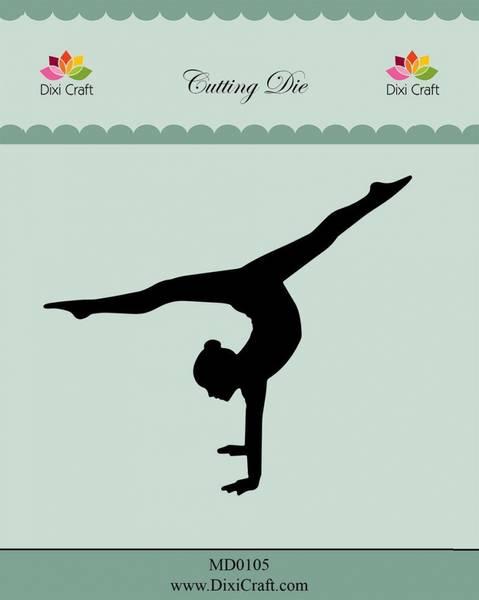 Dixi Craft - Dies - MD0105 - Gymnast