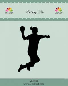 Bilde av Dixi Craft - Dies - MD0108 - Female Handball Player