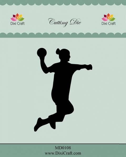 Dixi Craft - Dies - MD0108 - Female Handball Player
