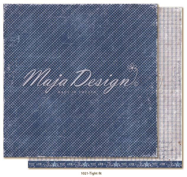 Maja Design - 1021 - Denim & Girls - Tight fit