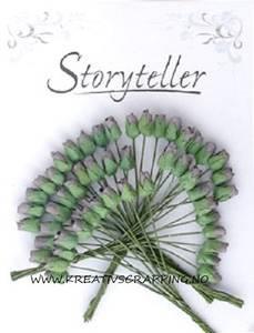 Bilde av Storyteller - Roseknopp - Grå Lilla - 4mm - 1746