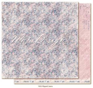 Bilde av Maja Design - 1022 - Denim & Girls - Ripped Jeans