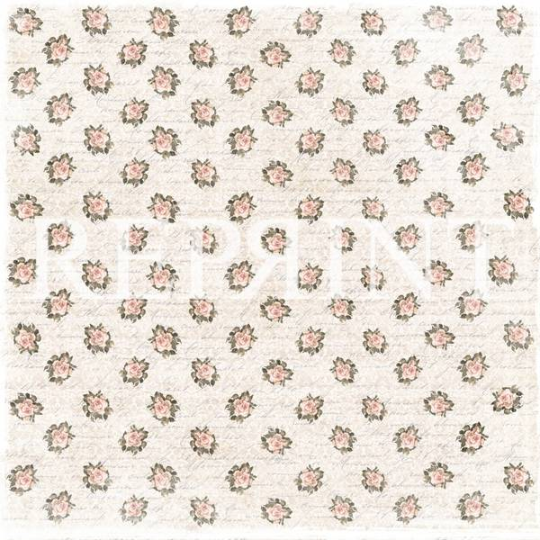 Reprint - 12x12 - RP0251 - I Do Collection - Little roses for yo