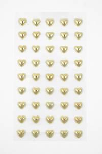 Bilde av Kort & Godt - Stickers - ST-149 - Perle hjerte - Gull
