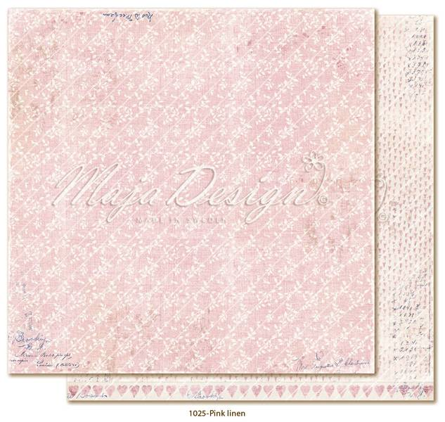 Maja Design - 1025 - Denim & Girls - Pink linen