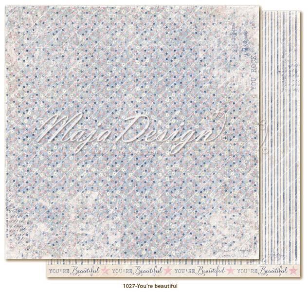 Maja Design - 1027 - Denim & Girls - You´re Beautiful