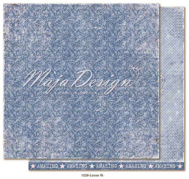 Maja Design - 1028 - Denim & Girls - Loose fit