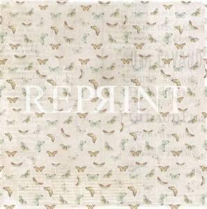 Bilde av Reprint - 12x12 - RP0219 - Spring Blossom - Butterflies