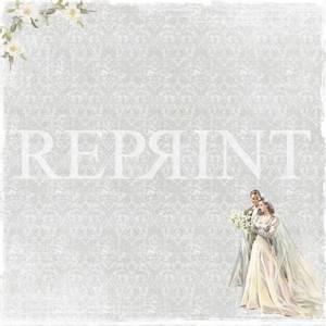Bilde av Reprint - 12x12 - RP0254 - I Do Collection - Bride & groom