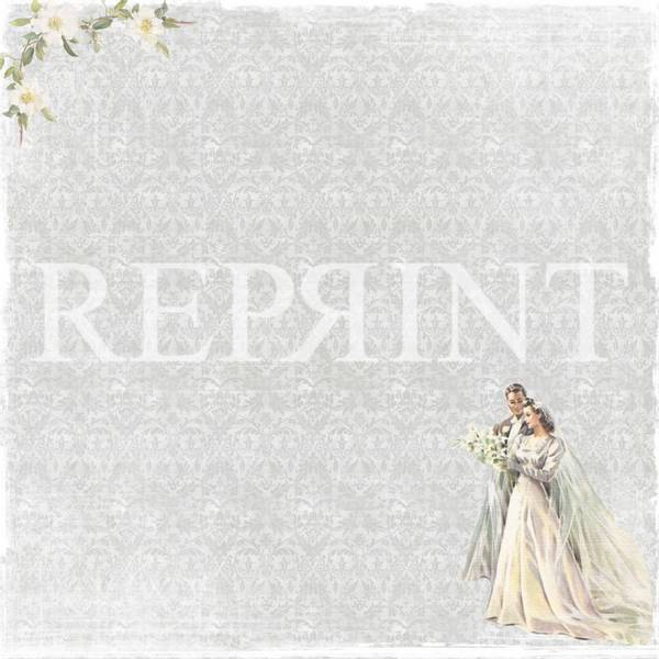 Reprint - 12x12 - RP0254 - I Do Collection - Bride & groom