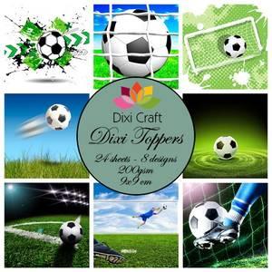 Bilde av  Dixi Craft - Dixi toppers - ET0223 -  Football