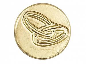 Bilde av Manuscript - Wax Sealing Coin - Ringer (Løs stempelsegl)