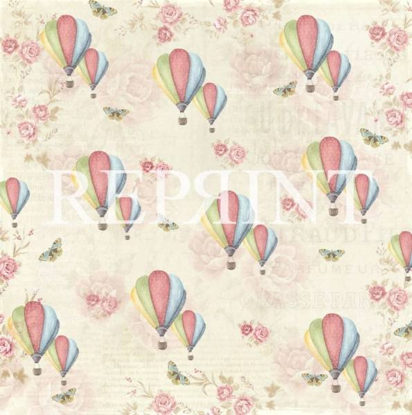 Reprint - 12x12 - RP0222 - Spring Blossom - Up in the air