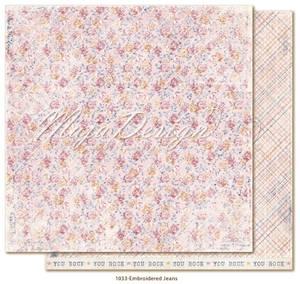Bilde av Maja Design - 1033 - Denim & Girls - Embroidered Jeans