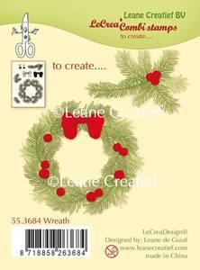Bilde av Leane Creatief - 55.3684 - Stamp - Wreath