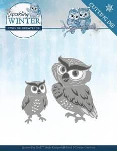 Bilde av FIT - Dies - YCD10192 - Yvonne Creations - Winter Owls
